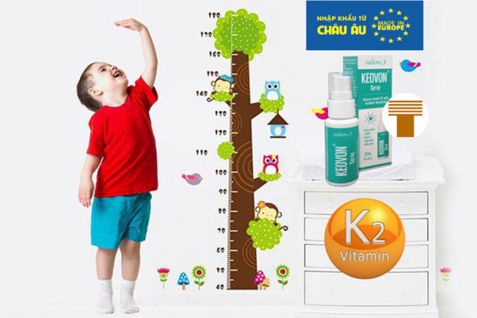 【Review】 Keovon spray bổ sung vitamin K2 (MK7) dạng xịt